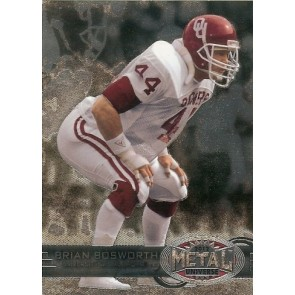 2012 Fleer Retro Brian Bosworth Metal Universe Base Single