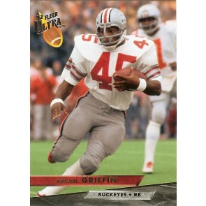 2012 Fleer Retro Archie Griffin Ultra Throwback Variation