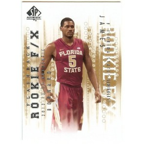 2012-13 SP Authentic Bernard James Flashback Rookie F/X