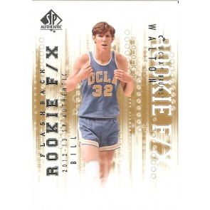 2012-13 SP Authentic Bill Walton Flashback Rookie F/X