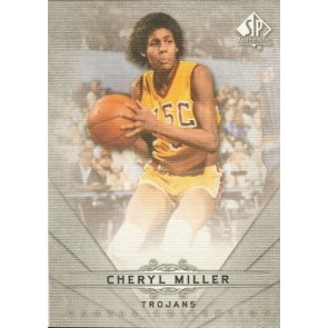 2012-13 SP Authentic Cheryl Miller Canvas SP