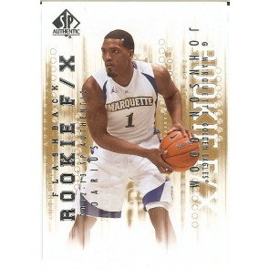 2012-13 SP Authentic Darius Johnson-Odom Flashback Rookie F/X