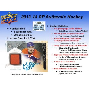 2013-14 SP Authentic Hockey Hobby Box