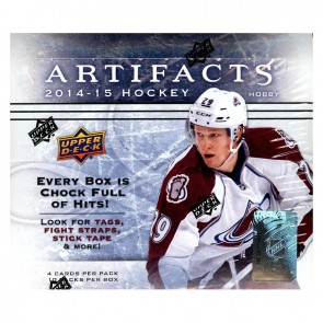 2014-15 Upper Deck Artifacts Hobby Box Hockey