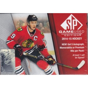 2014-15 Upper Deck SP Game Used Hockey Hobby Box