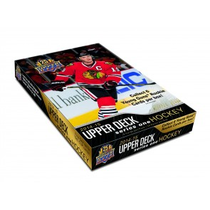 2014-15 Upper Deck Series 1 Hockey Hobby Box