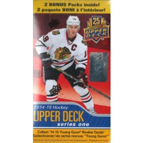 2014-15 Upper Deck Series 1 Hockey Blaster Box