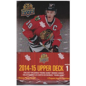 2014-15 Upper Deck Series 1 Hockey Tin Box