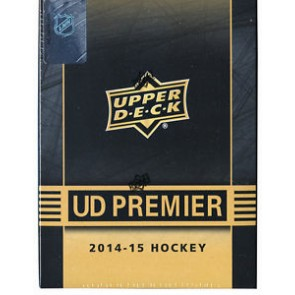 2014-15 Upper Deck Premier Hockey Hobby Box (Tin)