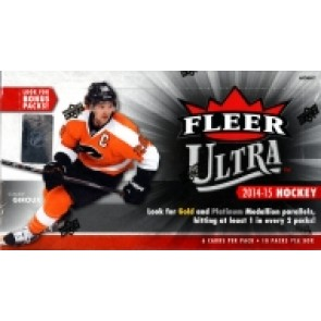 2014-15 UPPER DECK FLEER ULTRA HOCKEY HOBBY BOX