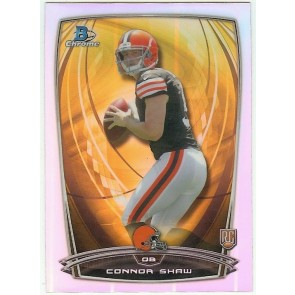 2014 Bowman Chrome Connor Shaw Rookie Refractor Single