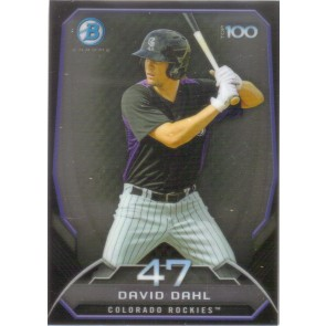 2014 Bowman Chrome David Dahl Top 100 Prospects