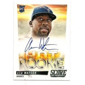 2014 Panini Score Asa Watson Hot Rookie Autograph