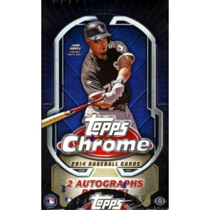 2014 Topps Chrome Hobby Baseball