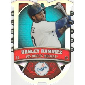 2014 Topps Chrome Connections Hanley Ramirez Refractor