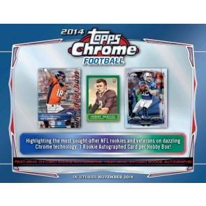 2014 Topps Chrome Football