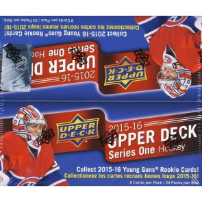 2015-16 Upper Deck Series 1 Hockey Retail Box - McDavid RC?