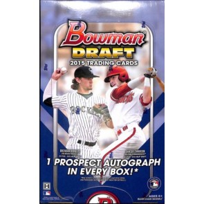 2015 Bowman Draft Baseball Hobby Box
