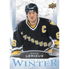 2016 Upper Deck Winter Mario Lemieux Card #W5 Rare