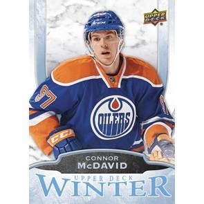 2016 Upper Deck Winter Connor McDavid Card #W6 Rare