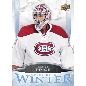 2016 Upper Deck Winter Carey Price Card #W7 Rare