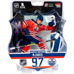 "2017 CONNOR McDAVID  6"" Action Figure - Edmonton Oilers 2850 Produced"