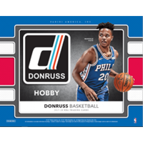 2017-18 Panini Donruss Basketball Hobby Box