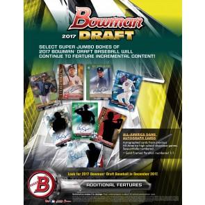 2017 Bowman Draft Baseball Hobby Jumbo Box (Presell)