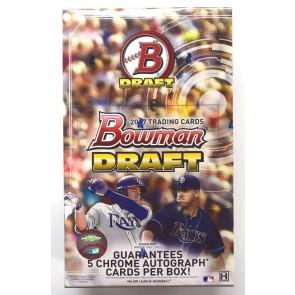 2017 Bowman Draft Baseball Hobby Jumbo Box