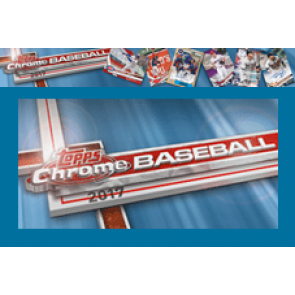 2017 Topps Chrome Hobby Baseball Box (2 Autos per Box)