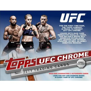 2017 Topps Chrome UFC Hobby Box