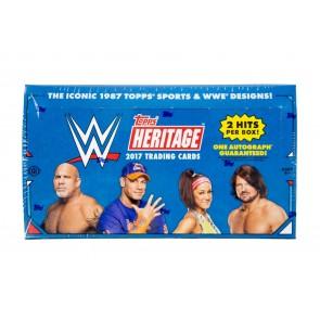 2017 Topps Heritage WWE Hobby Box