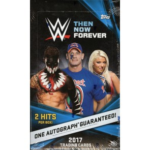 2017 Topps WWE Then, Now, Forever Wrestling Hobby Box