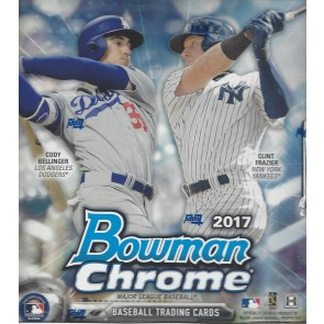 2017 Bowman Chrome Hobby Baseball Box (2 Autos per Box)