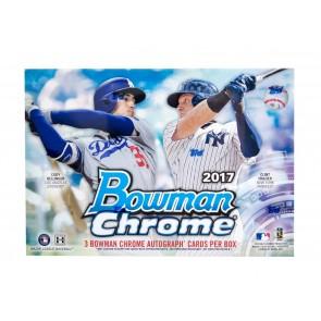 2017 Bowman Chrome Baseball Jumbo HTA Box - Factory Sealed! (3 Autographs)