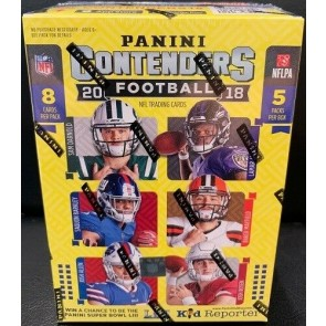 2018 Panini Contenders Blaster Football Box Factory Sealed