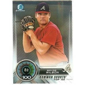 2018 BOWMAN SCOUTS CHROME BRYSE WILSON ROOKIE