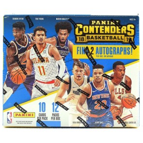 2018-19 Panini Contenders Hobby Basketball Box Factory Sealed