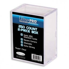 Ultra Pro 250 Count 2 Piece Box (5 Lot)