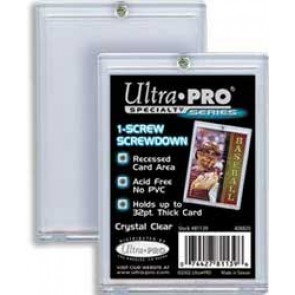 "Ultra Pro 3""x5"" Screwdown 1 Screw (25 Lot)"