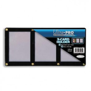 Ultra Pro Black Frame Screwdown 3 Card (5 Lot)