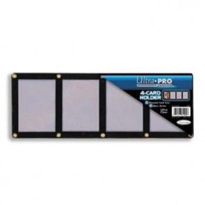 Ultra Pro Black Frame Screwdown 4 Card (5 Lot)