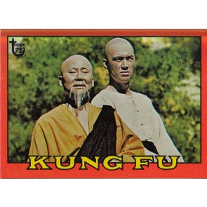 2013 TOPPS 75TH ANNIVERSARY #58 KUNG FU 1973 RAINBOW FOIL