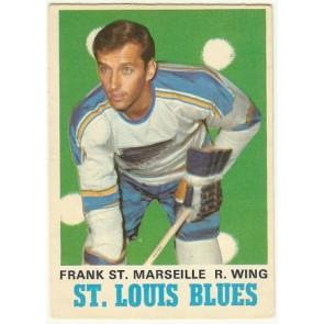 1970-71 O-Pee-Chee Frank St. Marseille Base Single NM-MT