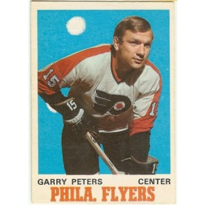 1970-71 O-Pee-Chee Garry Peters Base Single NM-MT