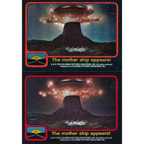 2013 TOPPS 75TH ANNIVERSARY #71 CLOSE ENCOUNTERS 1978 RAINBOW FOIL + BASE CARD