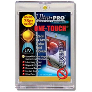 "Ultra Pro 3""x5"" Magnetic 1 Touch 75 pt (25 Lot)"