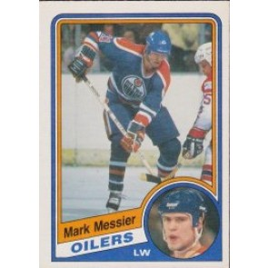 1984-85 O-Pee-Chee Mark Messier Single