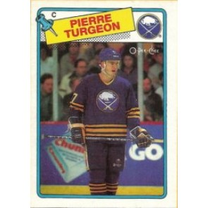 1988-89 O-Pee-Chee Pierre Turgeon Rookie Card