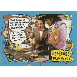 2013 TOPPS 75TH ANNIVERSARY #89 PEE-WEE'S PLAYHOUSE  BASE CARD